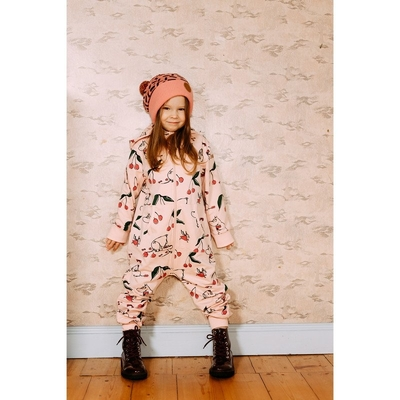 Moomin children's Cherry jump suit, rose