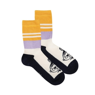 Moomin children's Little My socks, white