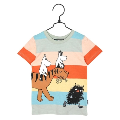 Moomin children's Moomins T-shirt, striped