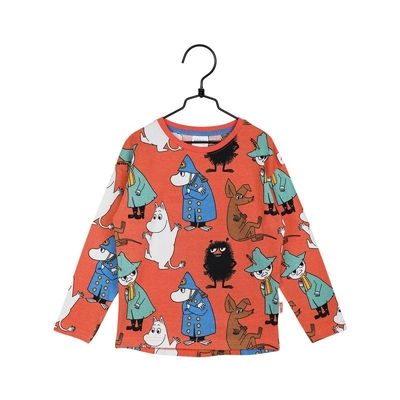 Moomin children's On Watch shirt, orange