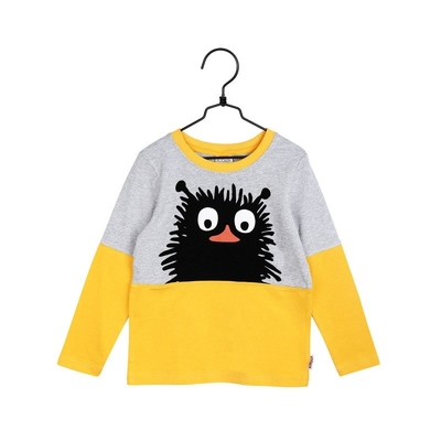 Moomin children's Stinky shirt, yellow