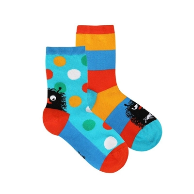 Moomin children's Stinky socks 2-set, turquoise