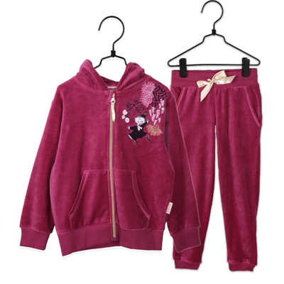 Moomin children's casual jumpsuit Mimoosa, rose