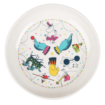Moomin circus deep plate for a child