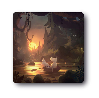 Moomin coaster Moominvalley Forest