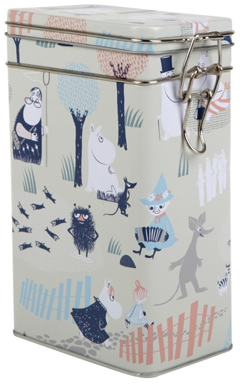 Moomin coffee jar Forest, light