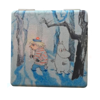 Moomin compact mirror Magic Winter