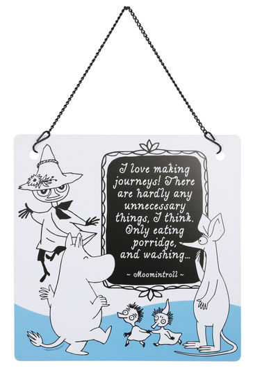 Moomin decor wall sign, Friends