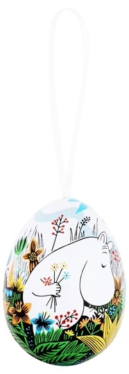 Moomin decorative egg Moomintroll, Meadow