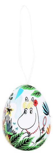Moomin decorative egg Snorkmaiden, Meadow