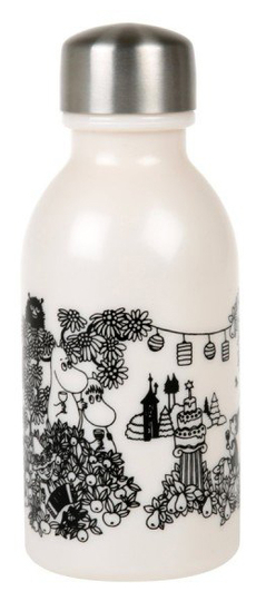 Moomin drinking bottle Garden, 0,3l