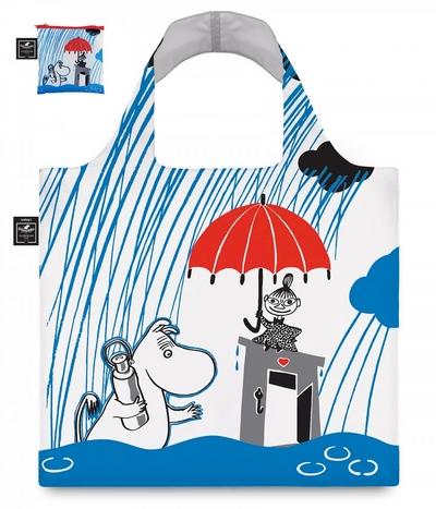 "Moomin eco bag ""Raining"""