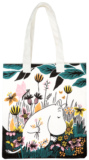 Moomin eco bag Field of Flowers