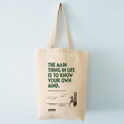 "Moomin ecological shopper bag ""The main thing"""