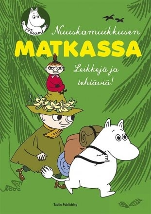 "Moomin exercise / drawing book ""Nuuskamuikkusen matkassa"""