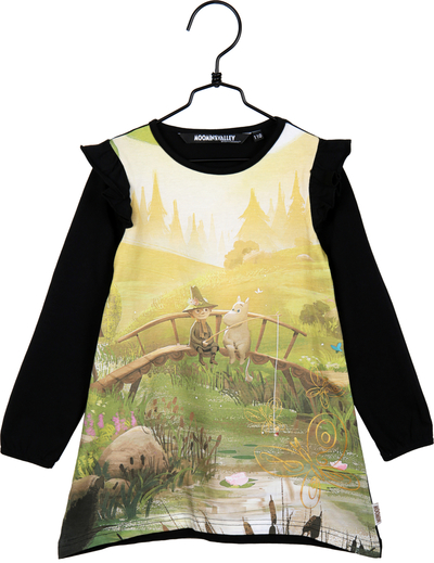 Moomin girls' tunic-dress, Animation