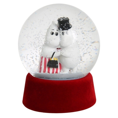 Moomin glass snow globe, Tenderness