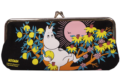 Moomin glasses pouch/purse, Fruit tree