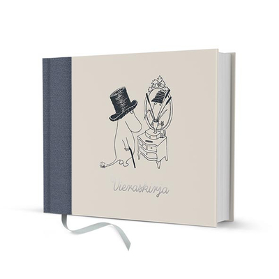 Moomin hardcover guestbook