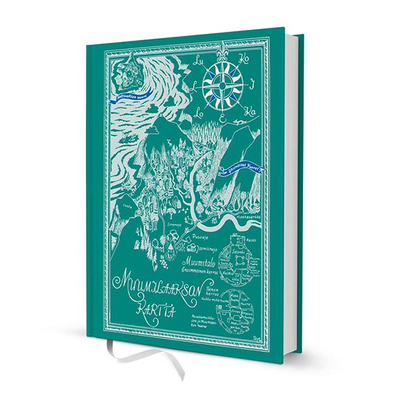 Moomin hardcover notebook, Map of the Moominvalley