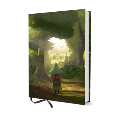 Moomin hardcover notebook, Snufkin