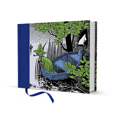 Moomin hardcover notebook Snufkin on a Boat
