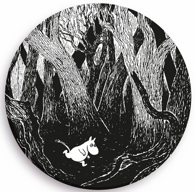 Moomin in the Forest pan trivet