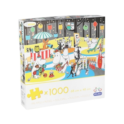 Moomin jigsaw puzzle Fall celebration 1000 pieces