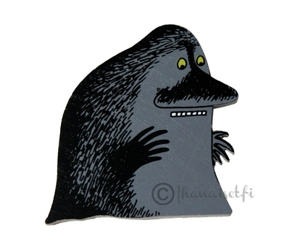 Moomin magnet, The Groke