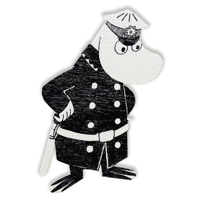 Moomin magnet, The Police