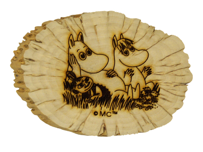 Moomin magnet, deadwood, Moomins