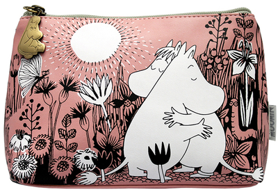 "Moomin make up bag ""Love"""