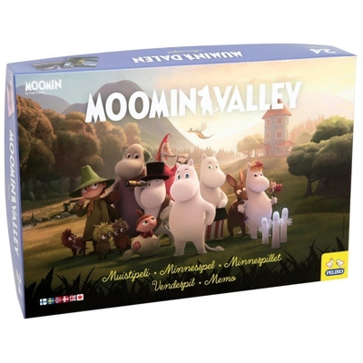 Moomin memory game Moominvalley