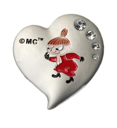Moomin metal magnet, Little My