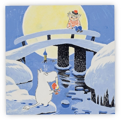 Moomin midwinter servetit 33x33cm