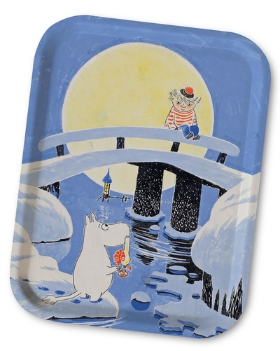 Moomin midwinter tray 27x20cm