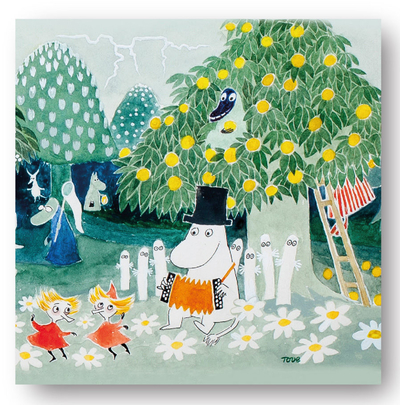 Moomin napkins 33x33cm the Hobgoblin's hat 20pcs