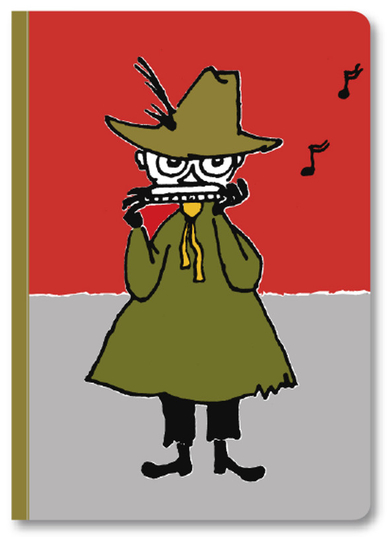 Moomin notebook A4, Snufkin