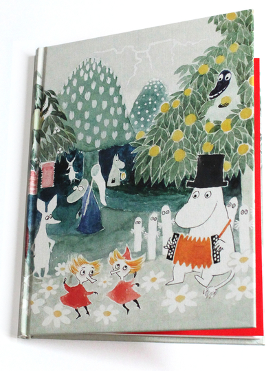 Moomin notebook A5 The Hobgoblin's hat