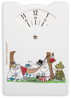 Moomin parking disc, Moomin family's trip