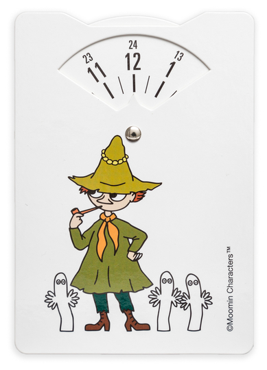 Moomin parking disc, Snufkin