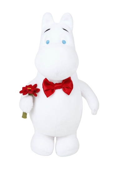 Moomin party plushie, Moomintroll, 22cm
