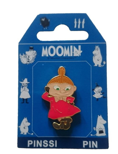 Moomin pin badge, Little My