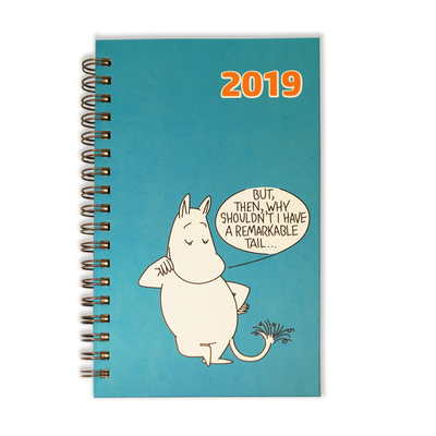 Moomin pocket calendar 2019, Remarkable Tail