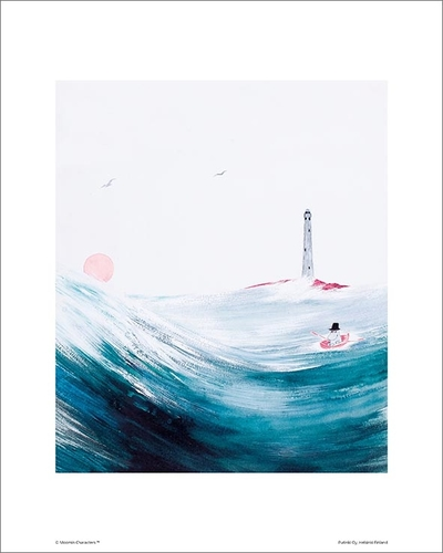 "Moomin poster ""Moominpappa and Sea"" 24x30cm"