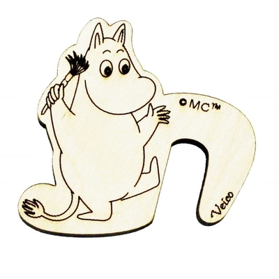 Moomin pot watcher, Moomintroll