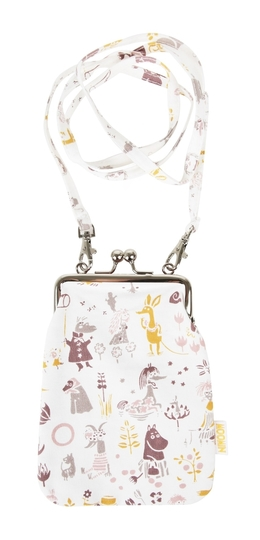 Moomin purse bag Tove Oxfam, white