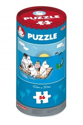 "Moomin puzzle ""At Sea"", 56 pieces"