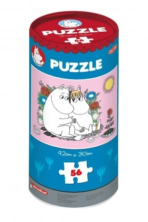 "Moomin puzzle ""Love"", 56 pieces"