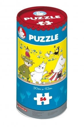"Moomin puzzle ""Trip to the Meadow"", 56 pieces"